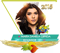 Daniela Cepeda Miss Teen Earth 2015